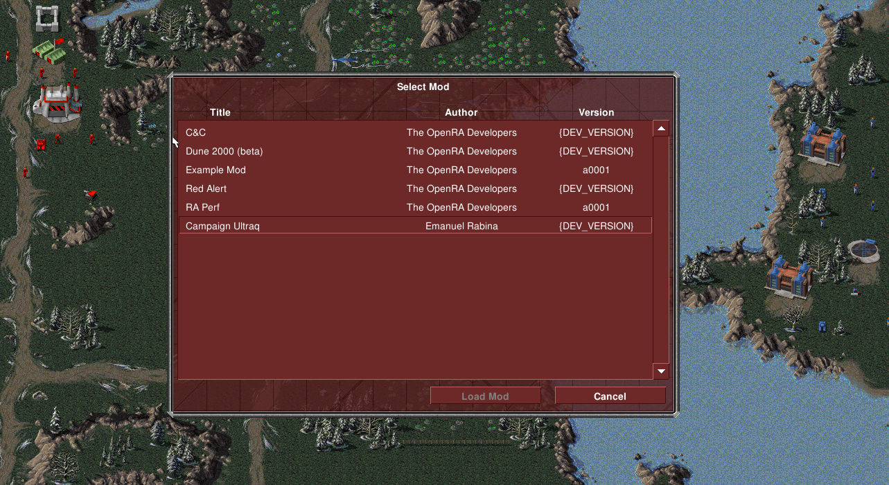 Single-Player campaign to bridge the gap between Red Alert and Tiberian Dawn.